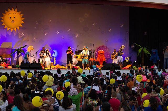 Quem assistiu a esse lindo Show Luau da Banda do Tio Bruninho no último domingo, promovido pela _tvc