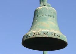 El Camino Real Bell along the El Camino