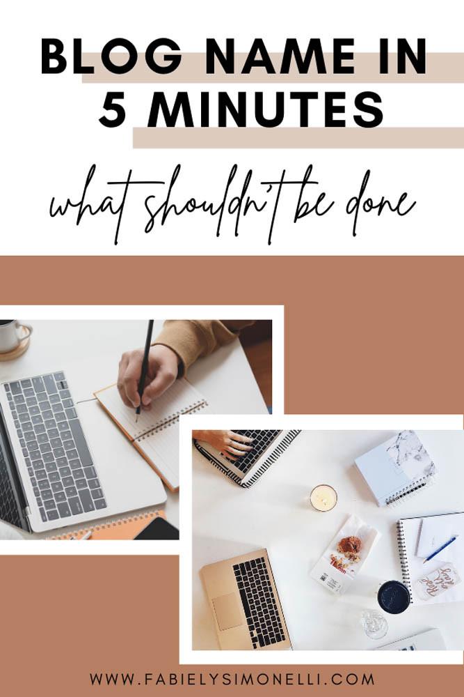 Choose a Successful Blog Name