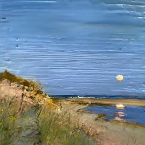 Early Moon, Wasque, Summer