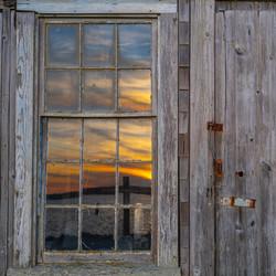 Sunset from a Menemsha Fishing Shack
