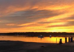 Sunrise on the Lagoon