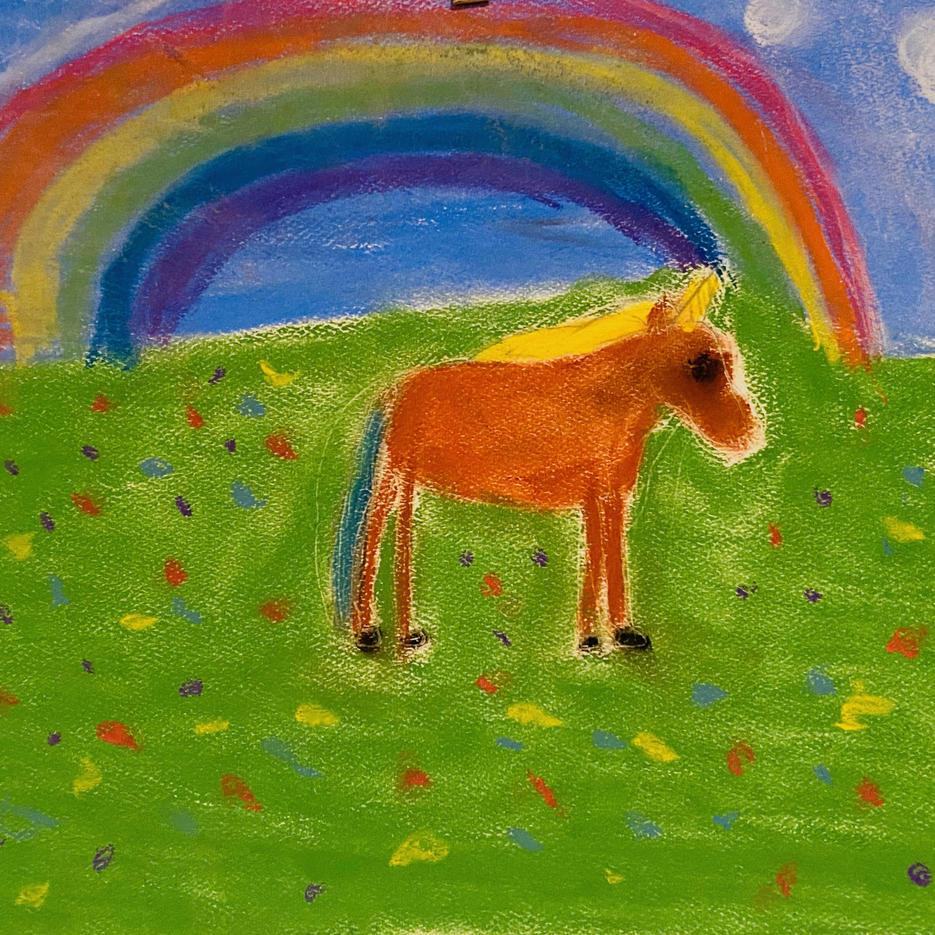 Unicorns | Pastel | Scarlett, Age 7