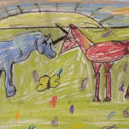 Unicorns | Pastel | Ella, Age 9