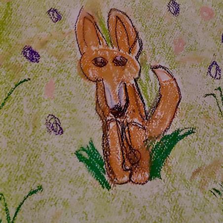 Foxes | Pastel | Ella, Age 9