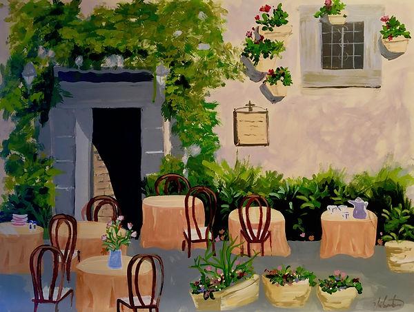 Arezzo is Waiting_Soft Body Acrylic on W