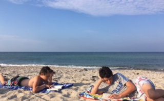 Boys, Books, Beach