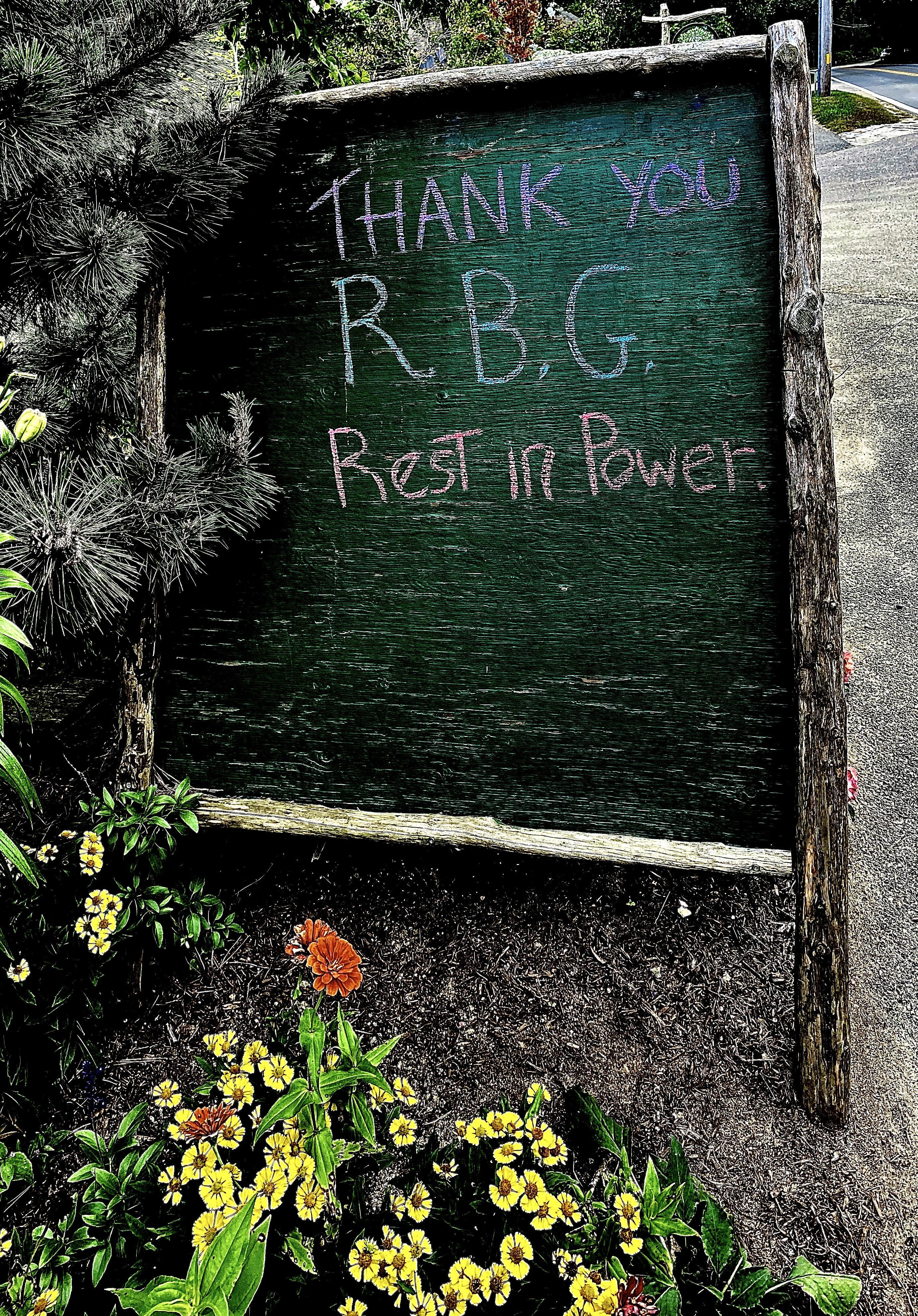 Thank you R.B.G