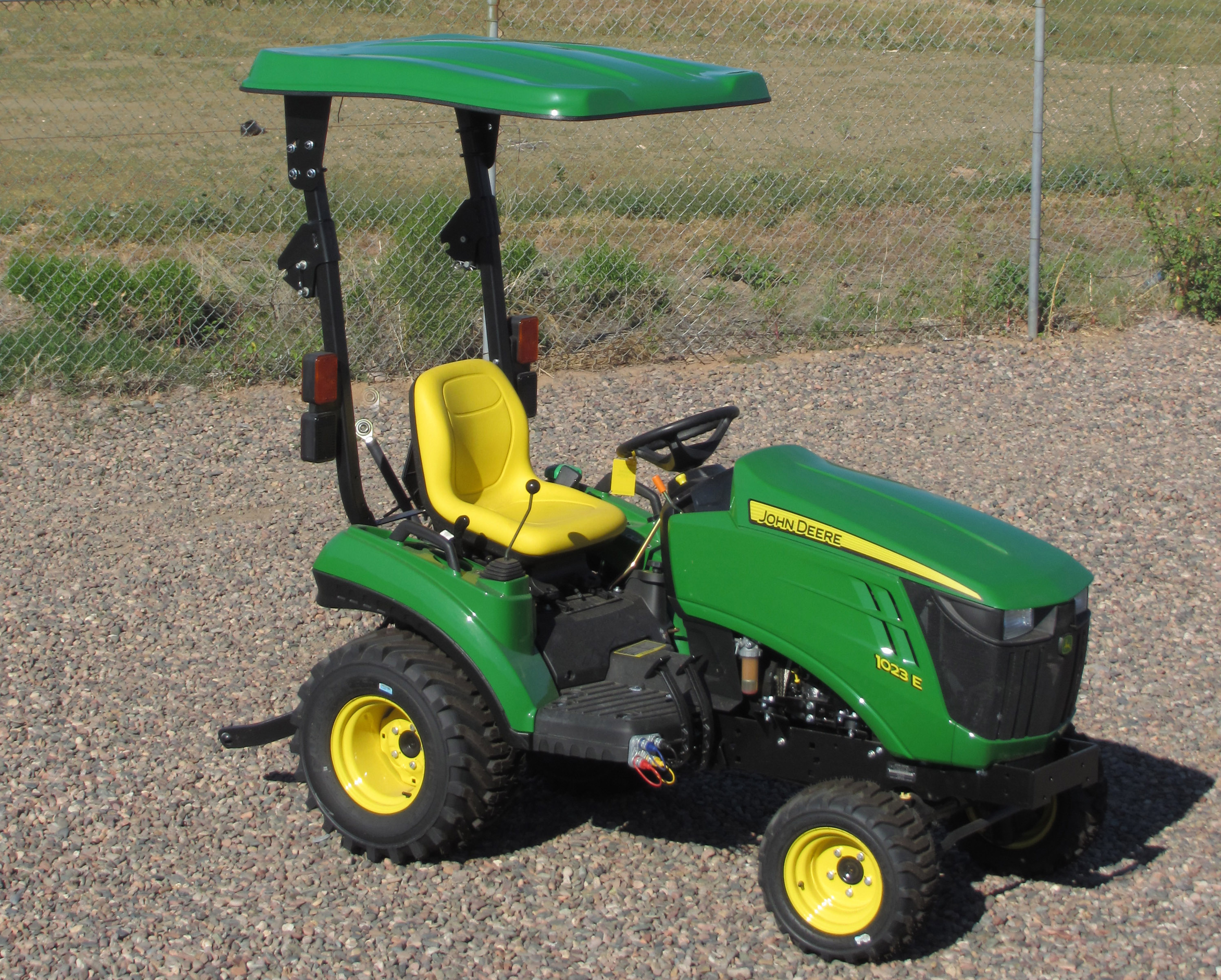 Massey Ferguson Canopy Top : New john deere canopy for and families tractor