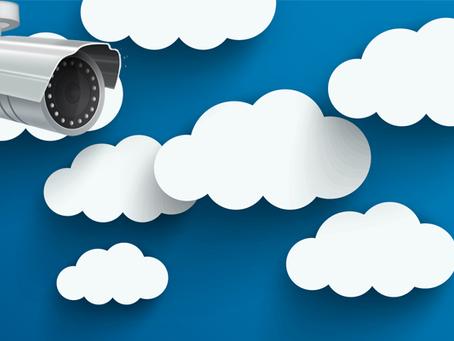 Gravação em nuvem para câmeras de segurança