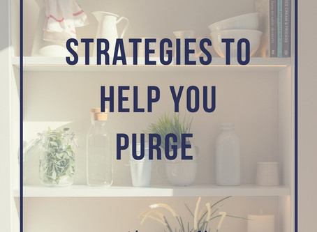 Let it go: Strategies to Help You Purge