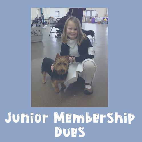 Junior Membership Dues