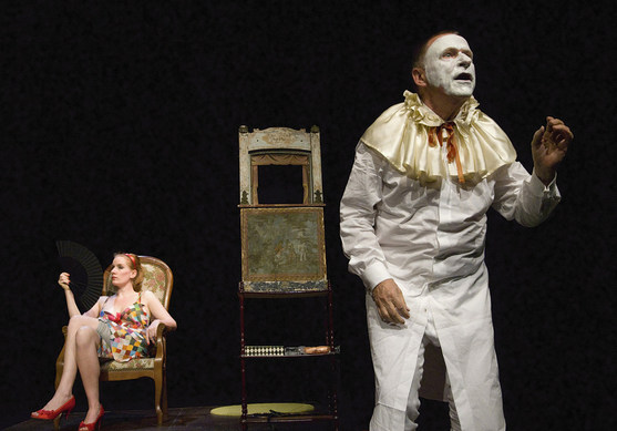 Der düstere Dandy- ein Abend mit Pierrot, Theater Rigiblick Zürich