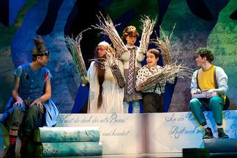 Zauberlehrling, Bernhard Theater Zürich und Das Zelt
