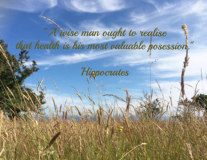 Hippocrates Quote