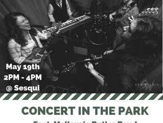FRIENDS OF SESQUI TO KICK OFF 2019 CONCERT IN THE PARK SERIES WITH LIVE MUSIC FROM MCKENZIE BUTLER B