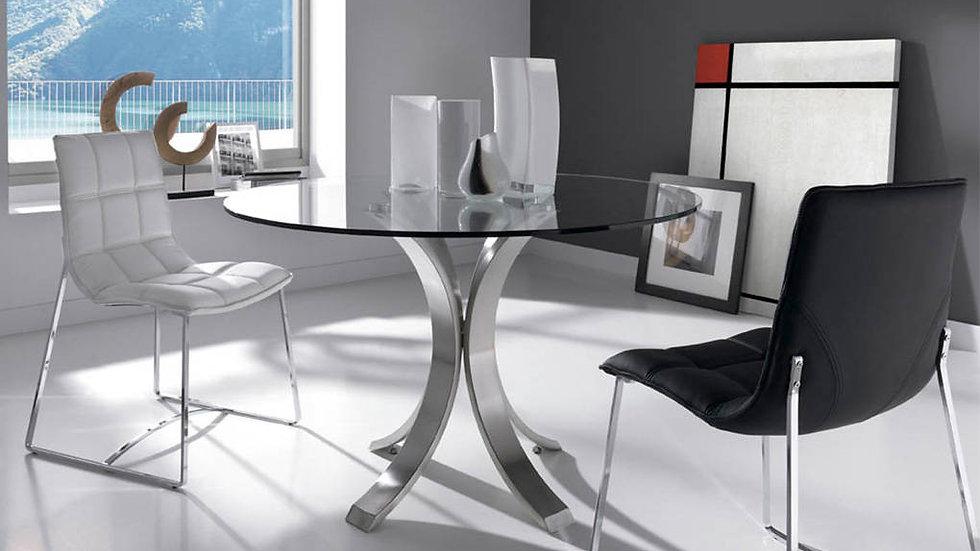 Mesa comedor cristal modelo 1002