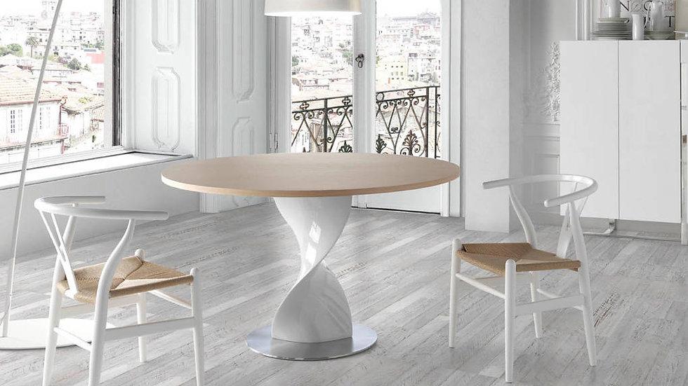 Mesa comedor redonda roble modelo 1001.02