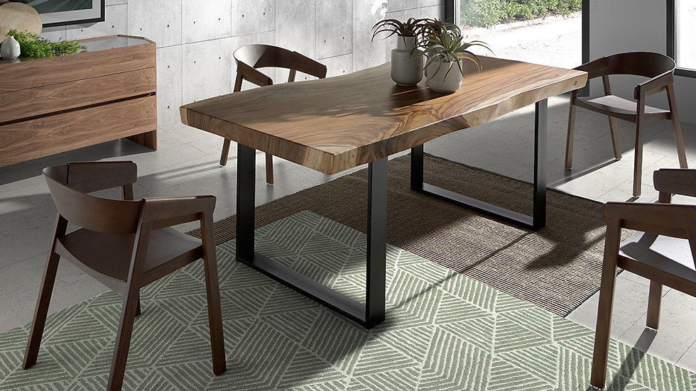 Mesa comedor madera maciza Suar modelo 1091