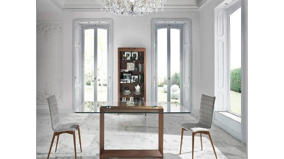 Mesa comedor rectangular cristal modelo 1006