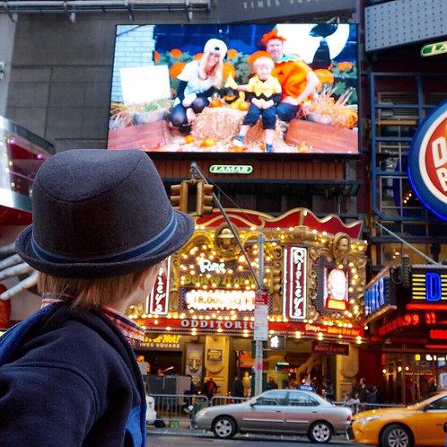 Times Square Digital billboard