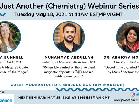 May 18, 2021 Webinar Speakers