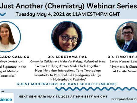May 4, 2021 Webinar Speakers