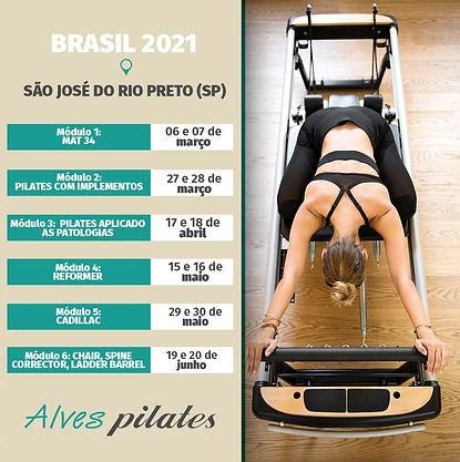 Curso de pilates Sao Jose do Rio Preto 2