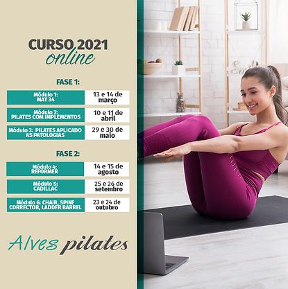 Curso Online de pilates Brasil 2021 .pn