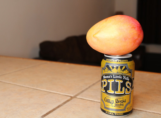 Beer Press #3: Oskar Blues Pils + Mango