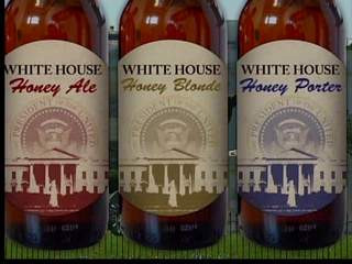 White House Beer Label. Photo Credit: WEWS