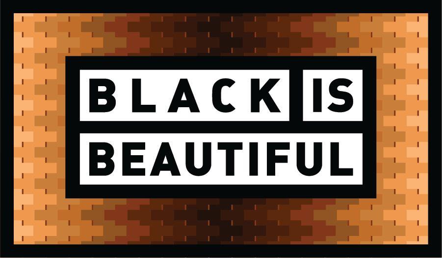 Black Is Beautiful Beer Label