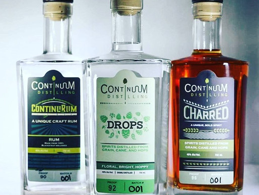 Podcast: Continuum Distilling (Waterbury, CT) - distilling spirits with craft beer