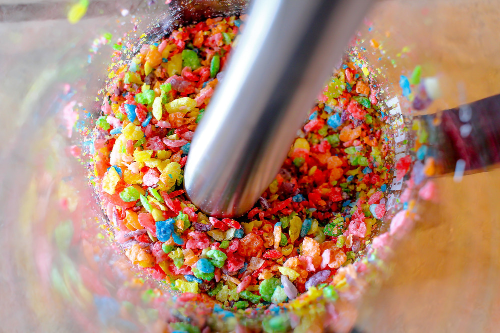 Muddling the fruity pebbles