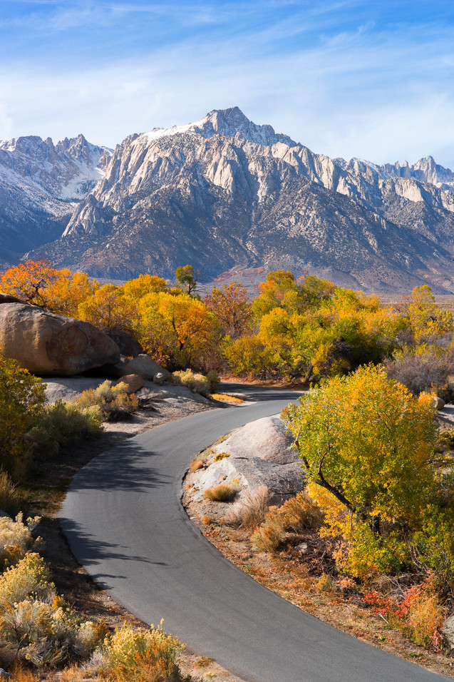 Alabama Hills in Autumn