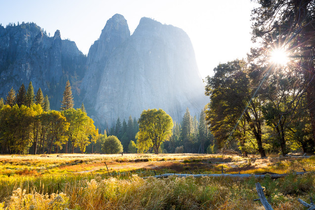 Autumn Light on Yosemite Valley II