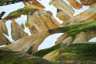 Colors and Shapes of Landmannalaugar