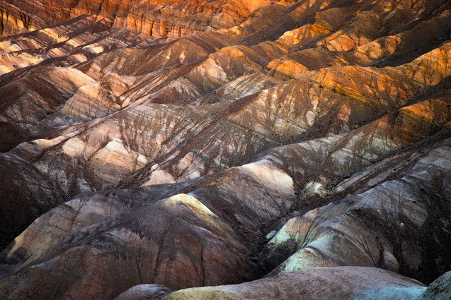 Textures of Death Valley