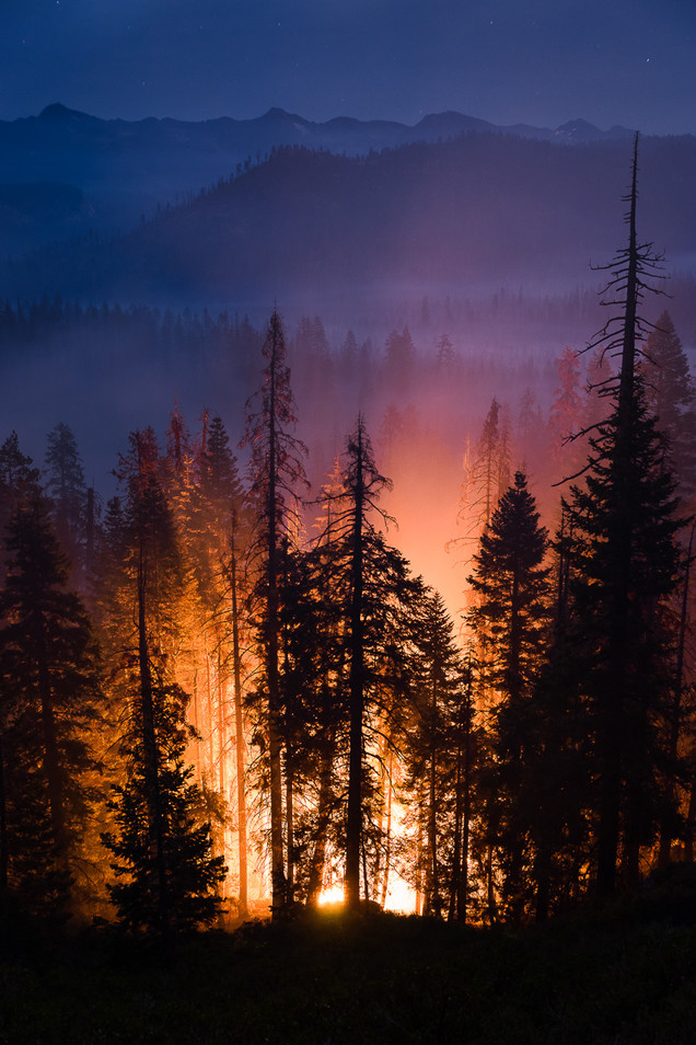 Yosemite on Fire
