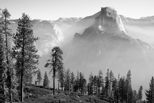 Smokey Yosemite Valley