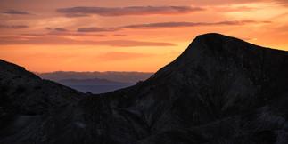 Last Light Over the Mojave