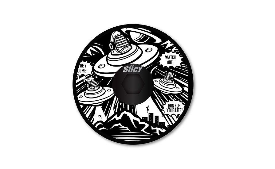 Slicy Top Cap UFO
