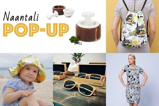 Turku Design Now! Pop Up Naantalissa