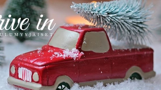 Turku Design Now! Drive in -joulumyyjäiset 2020