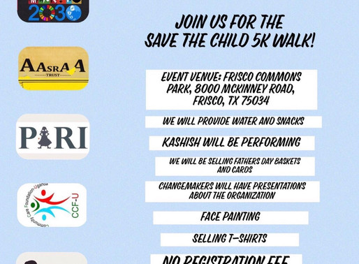 PARI 5K WALK/RUN ON JUNE 9