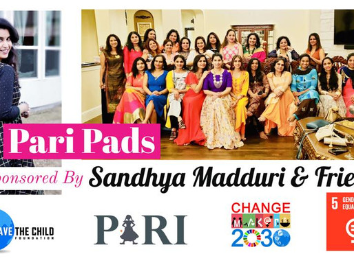 Pari Pads Campaign for Karimnagar