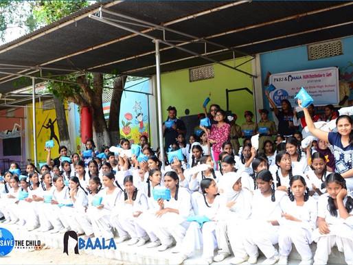 Baala Pads in Safdaria Girls High School