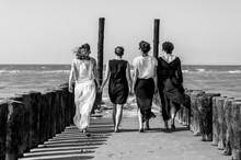 Ladies on the beach