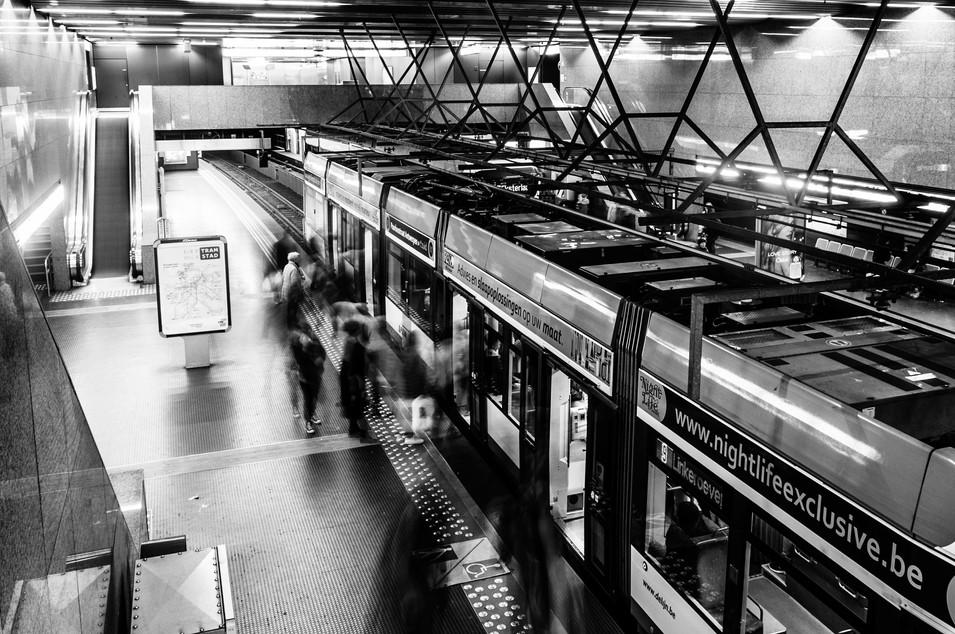Metrostation Antwerp