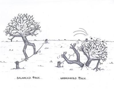 Balanced vs Unbalanced Tree